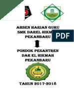 Cover Absen Harian Guru