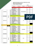 Jadwal Pengawas Semester Ganjil 2017