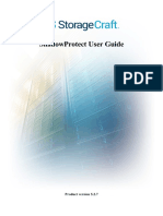 Shadow Protect User Guide