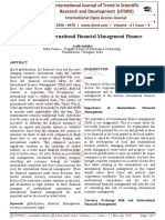 Importance International Financial Management Finance