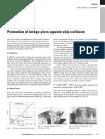 Svensson, 2009, Protection of bridge piers against ship collision.pdf