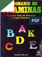 Diccionario de Vitaminas