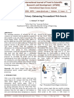 A Framework for Privacy-Enhancing Personalized Web Search