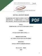 Ámbitos de La Evaluación Educativa (2)