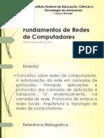 Redes de Computadores - Histórico