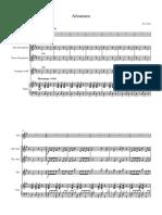 Arinanara - Poncho Version - Full Score