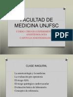 clase evaluacion pre anestesica 1° clase