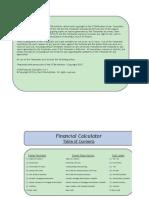 Ccim Financial Calculator v 6 1