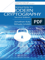 (Chapman & Hall_CRC Cryptography and Network Security Series) Jonathan Katz, Yehuda Lindell-Introduction to Modern Cryptography, Second Edition-Chapman and Hall_CRC (2014)