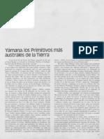 Yámana, Los Primitivos Australes