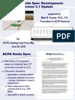 Snyder Dowel Alignment Spec Update 062216