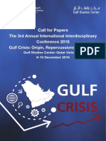 Gulf Crisis Call for Paper