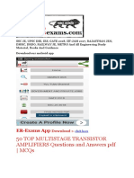 50 TOP MULTISTAGE TRANSISTOR AMPLIFIERS Questions and Answers pdf.pdf
