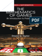 The Matematics of Games An Introduction to Probability
