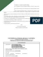 Anatomía General, Encuadre, Prog. de Curso. Doc