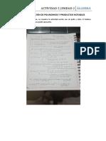 a5_unida2_descomposición de Polinomios y Productos Notables