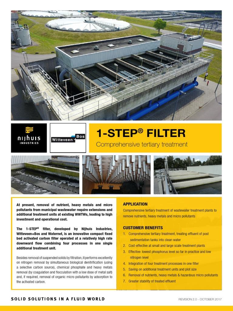 1 Step Filter Digital | Sewage Treatment | Filtration