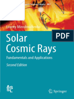 (Astrophysics and Space Science Library 405) Leonty Miroshnichenko (Auth.)-Solar Cosmic Rays_ Fundamentals and Applications-Springer International Publishing (2015)