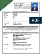 Resume Fuad English Updated (Latest)