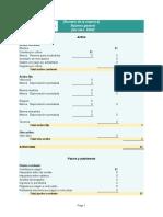 Plantilla Excel Balance General