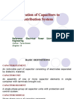 Application of Capacitors