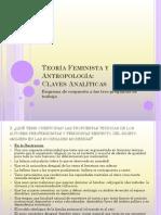 Teoría Feminista y Antropología1