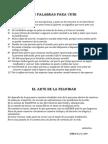12 PALABRAS PARA VIVIR y El Arte de La Felicidad.