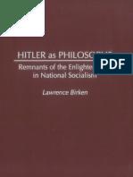 Birken - Hitler as Philosophe