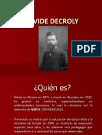 Clase Decroly