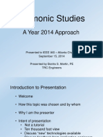 2014-09-15 IEEE IAS Atl - Harmonics Study