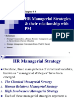 HR Managerial Strategies & Their Relationship With PM 2017