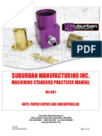 WI-007 Machining Standard Practices Manual