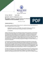 Romualdez vs. Ombudsman G.R. No. 165510-33