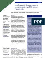 Drug Procurement India