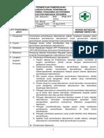 8.1.2.1 Sop Permintaan Pemeriksaan Laboratorium, Penerimaan Spesimen, Pengambilan Spesimen Dan Penyimpanan Spesimen