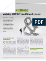 14-solution--singleran@broad:realizing gsm umts and wimax synergy