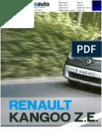 "RENAULT KANGOO Z.E. NA ""BLUE AUTO"""