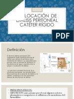 Colocacion de Dialisis peritoneal