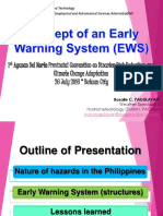 Effectiveness of Early Warning System