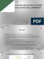 Slum Rehabilitation Scheme-KAILASHNAGAR SABARMATI