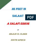 The Feet in Salaat