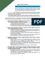 Alibaba in Africa Fact Sheet
