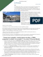 Canvas Model en Los Pirineos