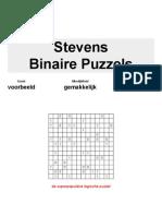 Binaire Puzzels 14x14 Gemakkelijk