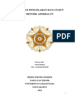 Laporan Pengolahan Data Pasut Metode Admiralty_Ahmad Baihaqi_39565_Stasiun Lengkawi