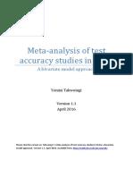 Meta-Analysis of Test Accuracy Studies in Stata - V1.1 April 2016