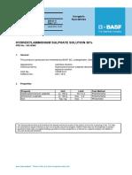 Hydroxylammonium Sulphate Solution 30%