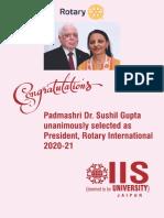 Padmashri Dr. Sushil Gupta