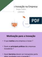 Gestão da Inovação em MPEs