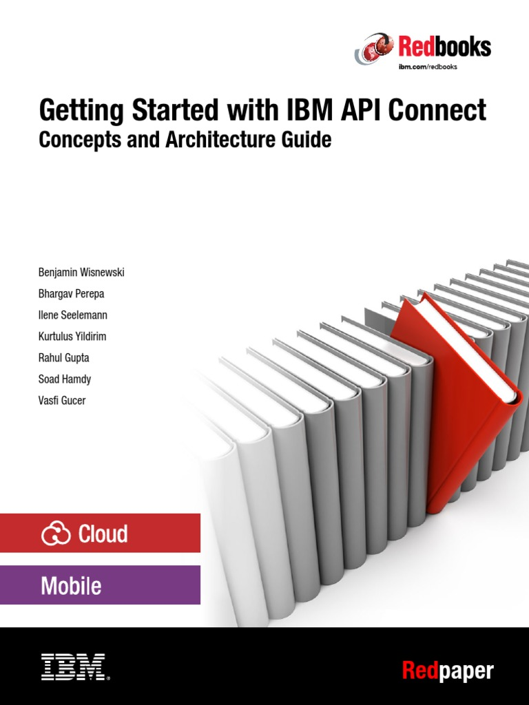 IBM API Connect Redbook pdf | Application Programming